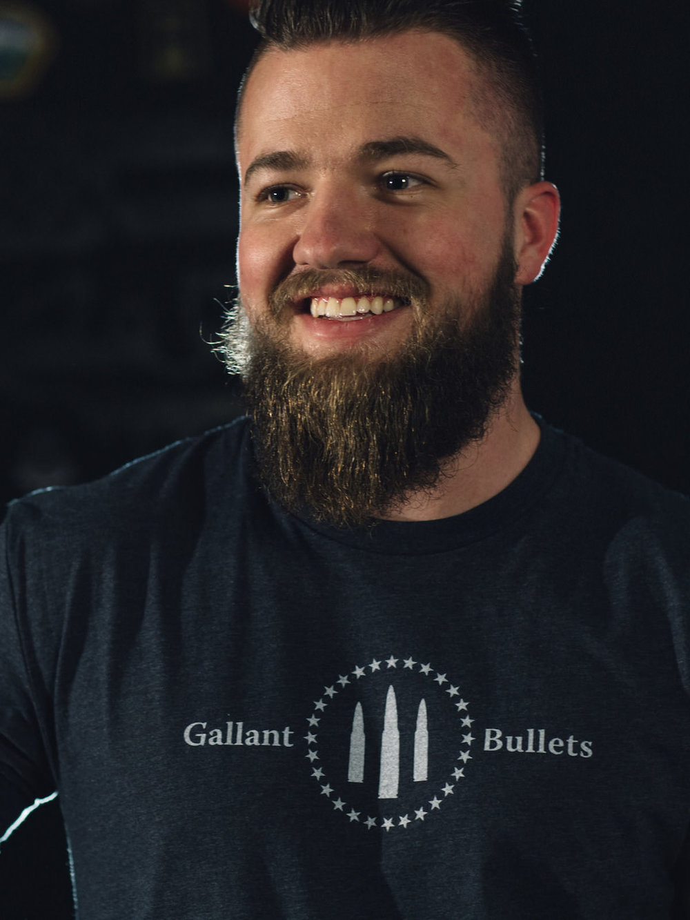 GALLANT BULLETS MEN'S FIRST ORIGINAL T-SHIRT