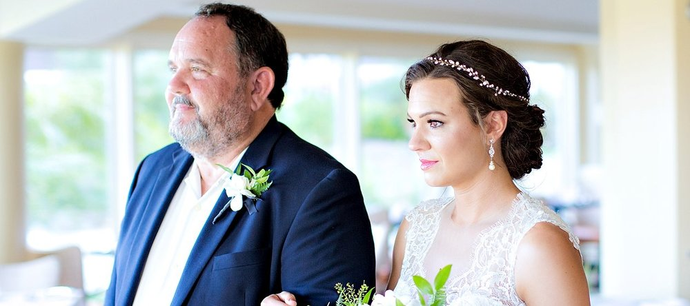 Brunette Bride with Headband Updo in Wedding Day Photos. Bridal Hairstyles and Makeup by Vanity Belle in Orange County (Costa Mesa) and San Diego (La Jolla)