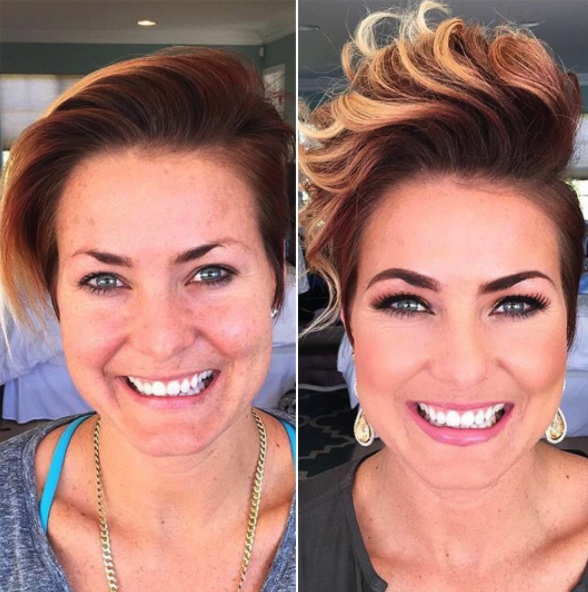 short_funky_hairstyle_professional_eye_makeup_vanity_belle_orange_county