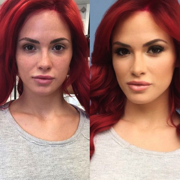 red_hair_smoky_eye_professional_makeup_vanity_belle_orange_county_san_diego