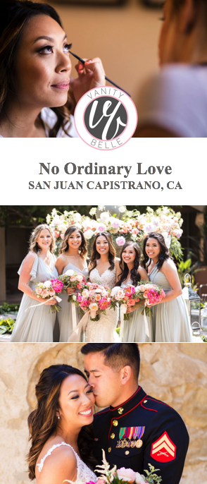Military-wedding-san-juan-capistrano-hair-makeup-thevanitybelle.com