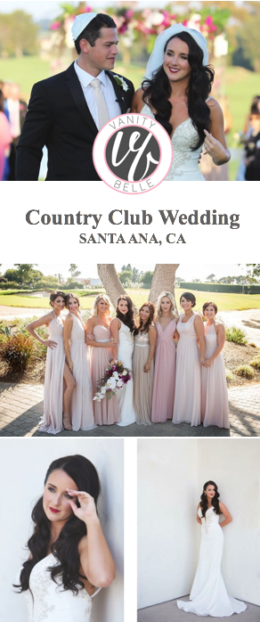 jewish-country-club-wedding-hair-makeup-thevanitybelle.com