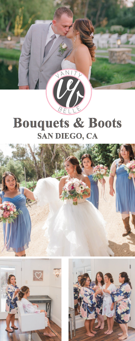San-diego-country-style-wedding-hair-makeup-thevanitybelle.com