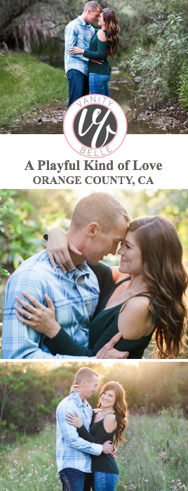Orange-county-engagement-shoot-hair-makeup-thevanitiybelle.com