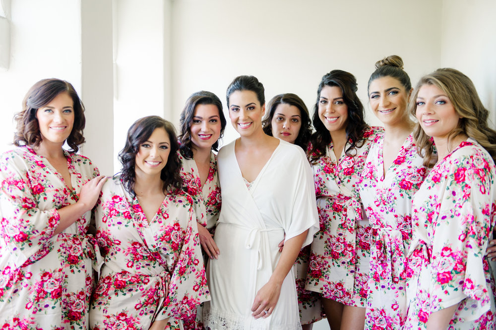 Bridal and bridesmaids wedding day beauty captured by Taryn Grey Photography. Bridal hair and makeup by Vanity Belle in Orange County (Costa Mesa) and San Diego (La Jolla) thevanitybelle.com