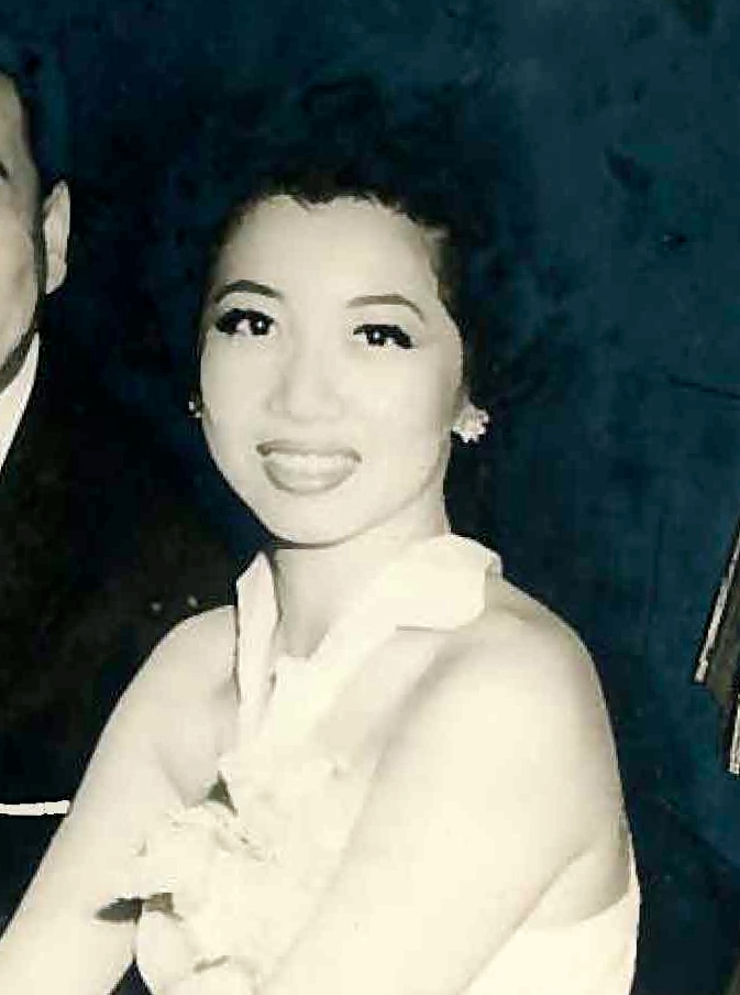Mom at Forbidden City nightclub, 1960s