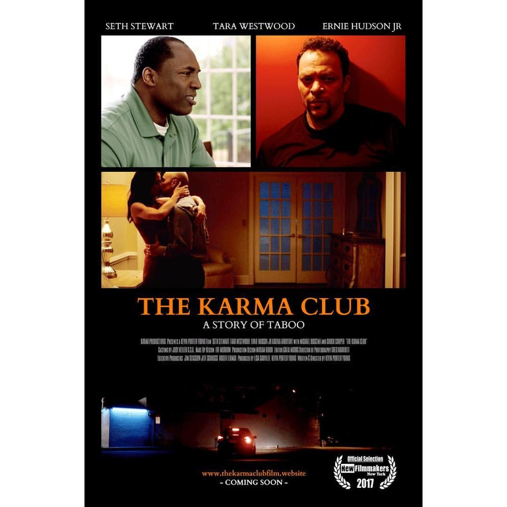 I loved working on The Karma Club, it's a great lil indie and is available on Amazon Prime now! Please check it out and if you like it, tell your friends and give us a good review!