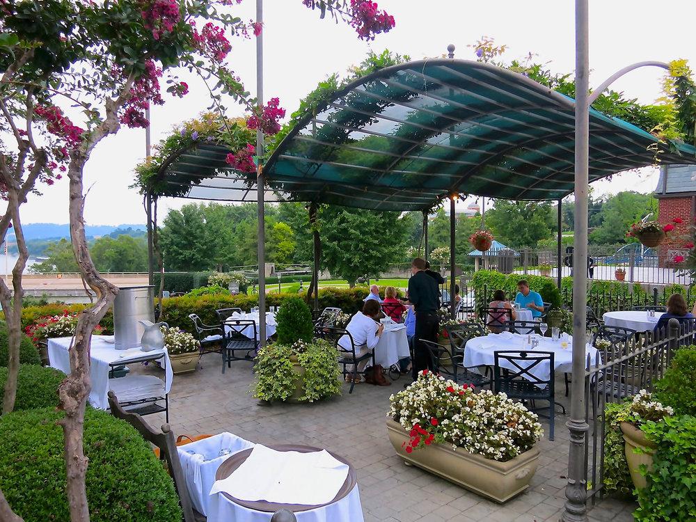 Back Inn Cafe Outdoor Patio