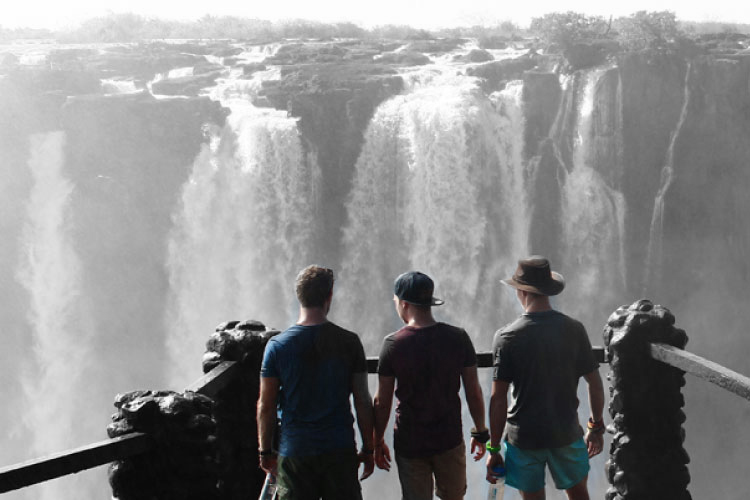 Teams of 3 - See the world with 2 of your best friends...PRICELESS!
