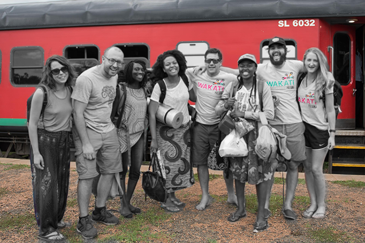 What is the Wakati Challenge? - An EPIC adventure! Teams of 3 using public transport only, race against time for share of $25,000!