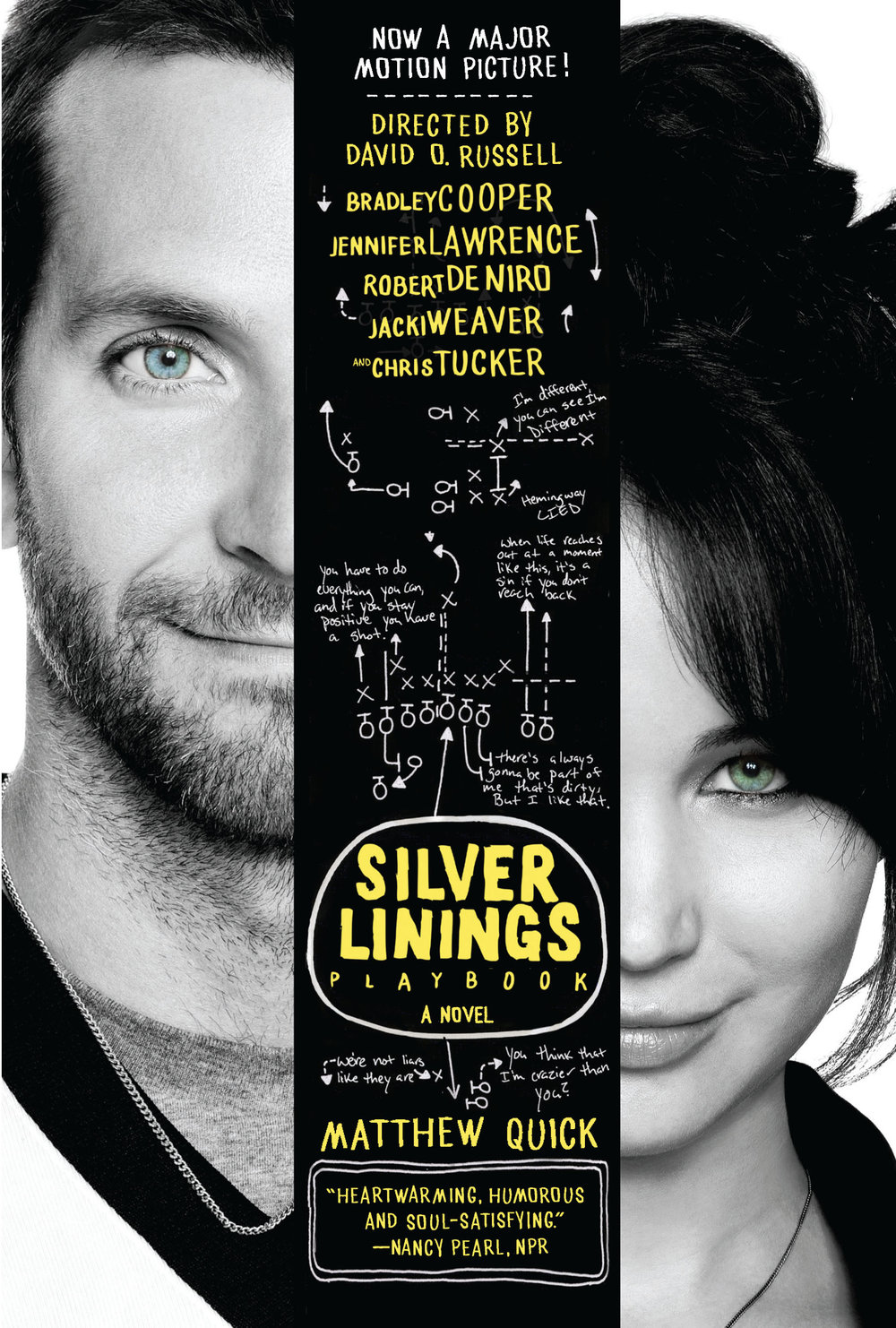 Silver Linings Playbook  by Matthew Quick   New York Times  bestseller