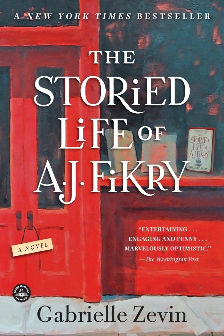 The Storied Life of A.J. Fikry  by Gabrielle Zevin   New York Times  bestseller