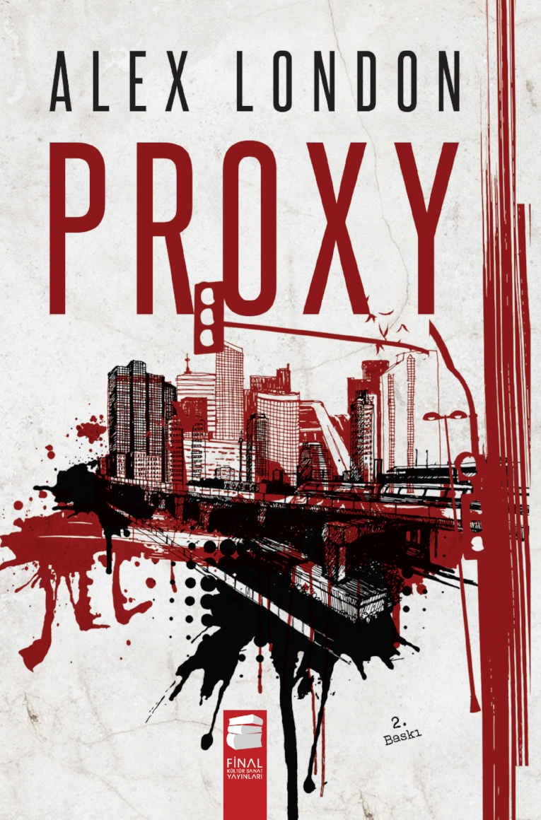 Proxy  by Alex London  Final Arts and Culture Publications  Turkish