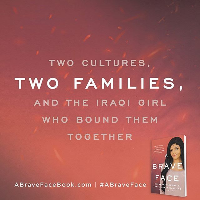 The inspirational story of a woman who moved mountains to provide medical care for an Iraqi girl badly burned during a roadside attack, Barbara Marlowe's determination to fight for her future daughter highlights the way love can reach across both cultures and continents. Hitting shelves March 12th! • • • #abraveface #bookstagrammer #bookstagram #bookshelf #books #upcoming #bravery #march #iraq #cultures #mother #daughter #adoption #teebafuratmarlowe