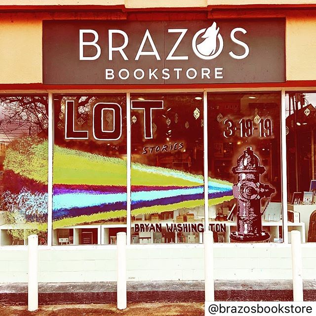 Come out to @brazosbookstore on Saturday and get your copy of LOT! It's free tacos and beer, and you get to support a local bookstore 💚 •reposted• Join us to celebrate Bryan Washington's debut collection LOT this Saturday at 1!  Amazing art by @lici_coco @riverheadbooks @bry.washing