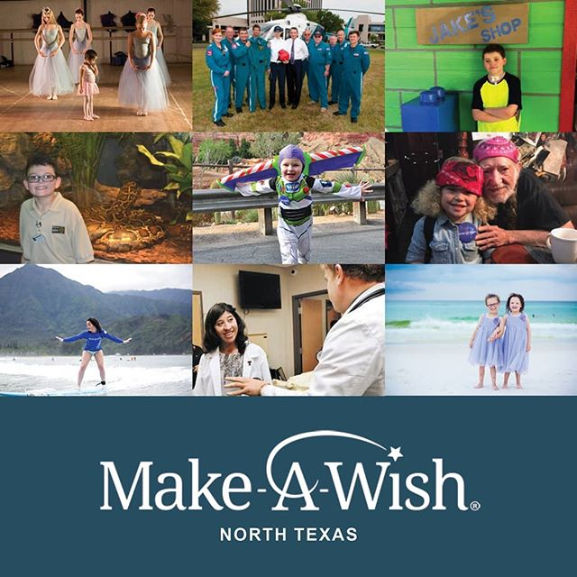We are proud to be a #Wishmaker with @makeawishnt! 🌠 The heartwarming stories of these kids are sure to make you a little misty-eyed on this #FeelGoodFriday. 👉 Link in bio  #GiveBack #MakeAWish #NorthTexas #VerdadRealEstate #VerticalCM