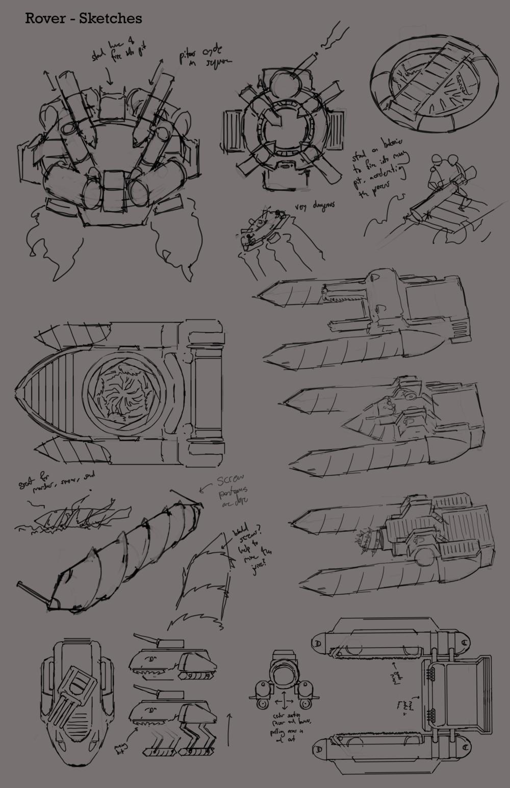 Rover Concept Sheet #1