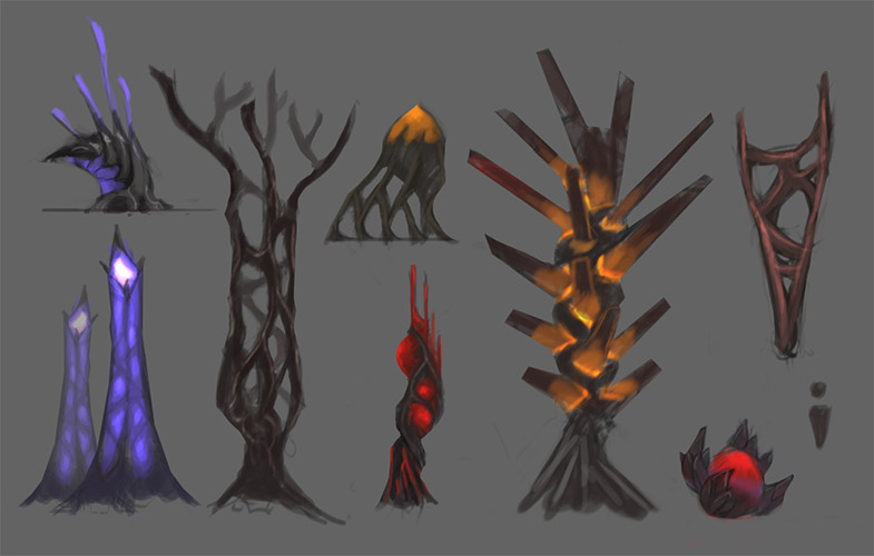 Lava Land Plants Breakdown