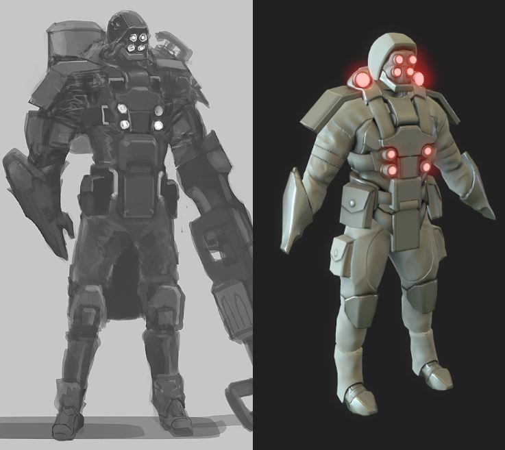 Concept/In-Game