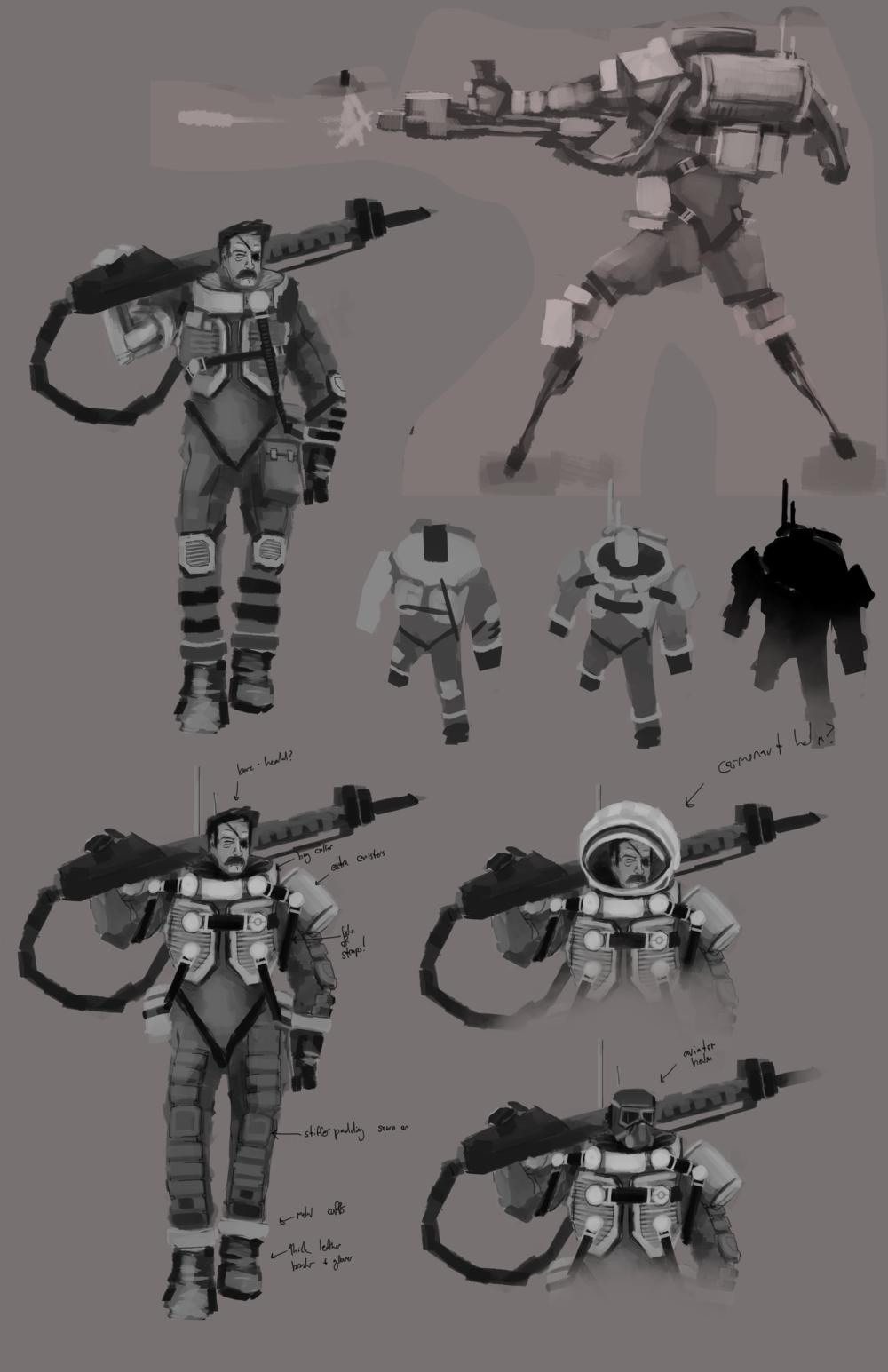 Character Concept Sheet #1