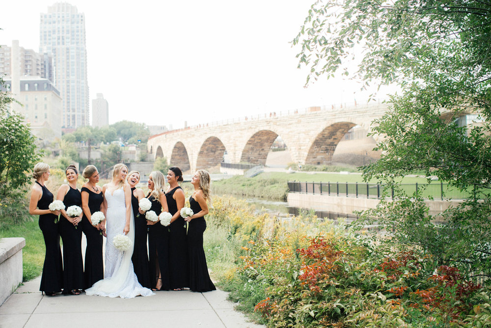 Fine art Minneapolis Wedding Photography at the Mill City Ruins