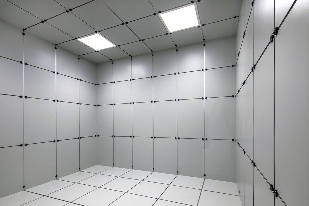 Klimakammer mit Pulverbeschichtung