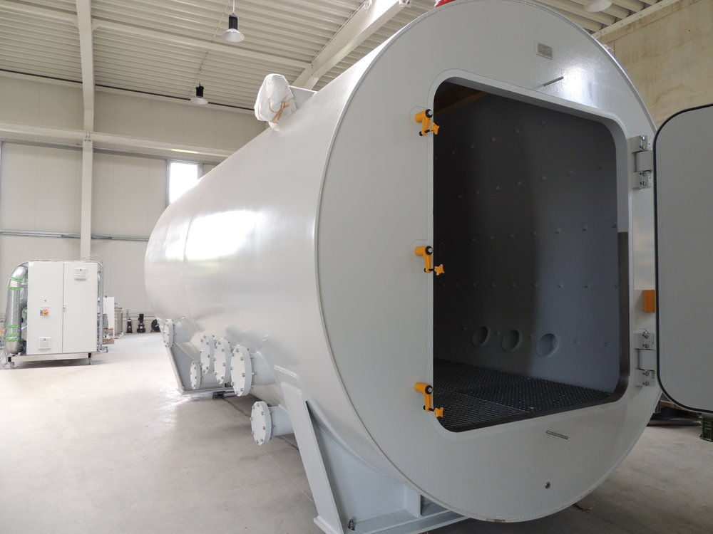 Tieftemperatur - Vakuumkammer für Komponententests