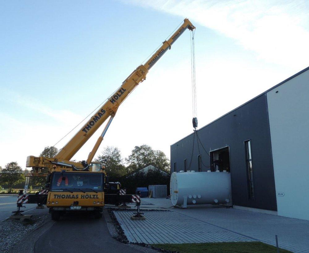 Auslieferung der Vakuumkammer aus unserer Produktion