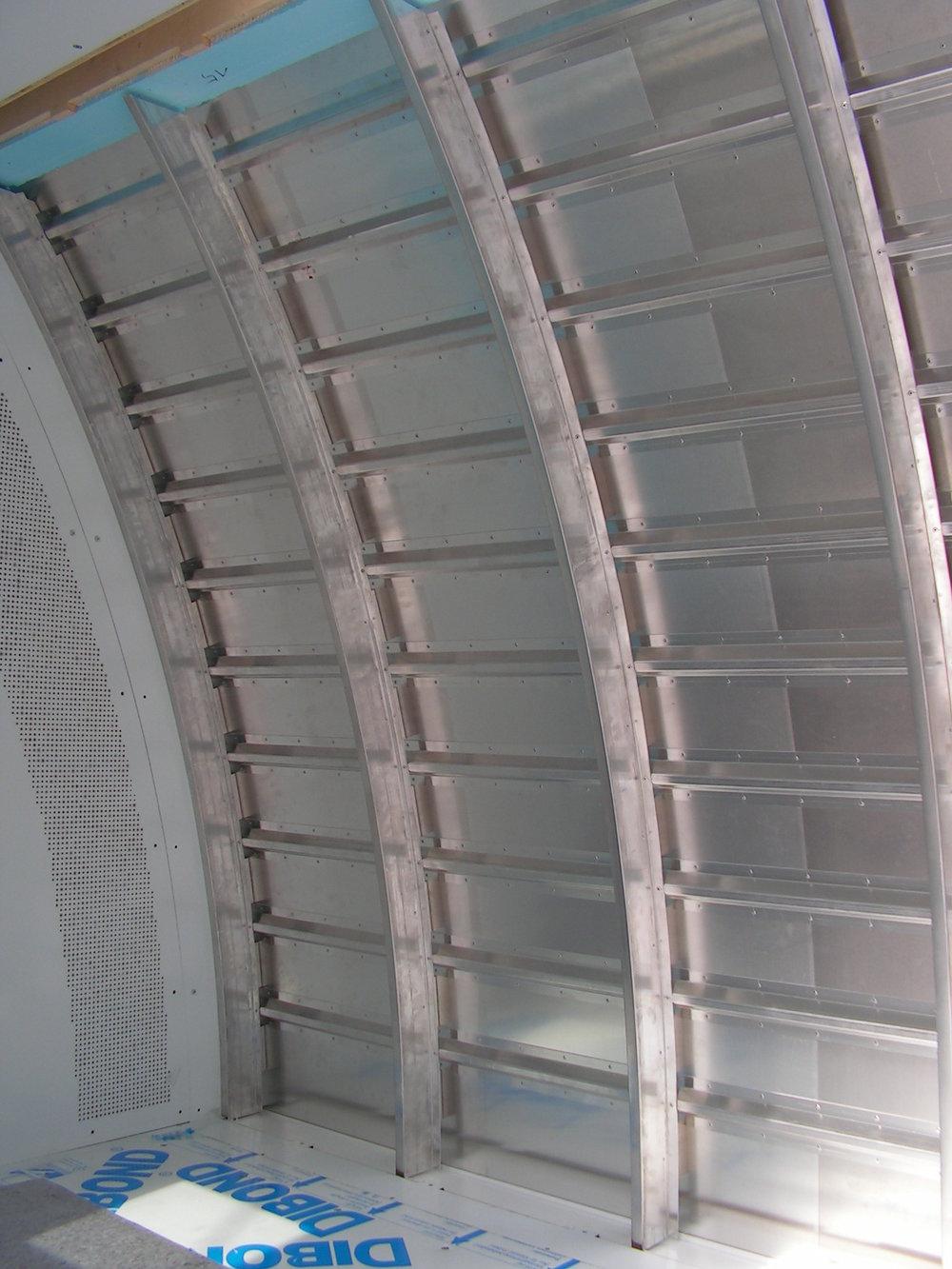 Nachbau einer Aluminium - Rumpfstruktur