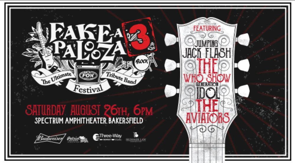 We are selling tickets for Fake A Palooza , if you are interested please email us at info@armedforcessupportfoundation.org or message us on Facebook.
