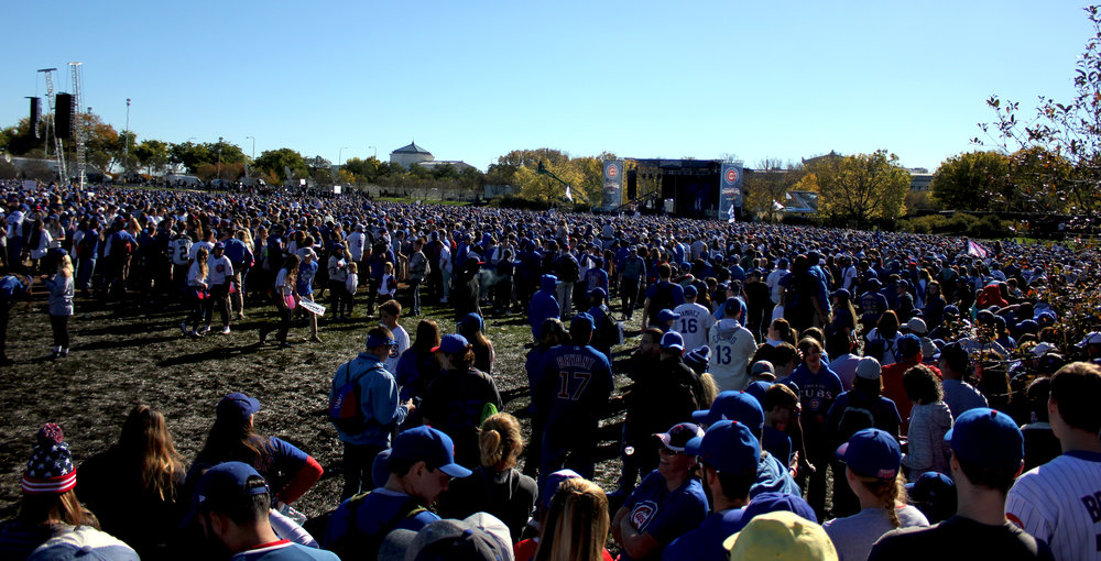 Cubs Grant Park Rally