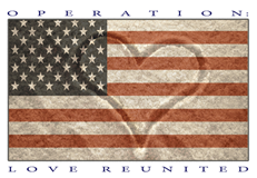 Operation: Love Reunited is a 501(c)3 non-profit organization that provides free professional photography sessions and photo gifts to our military families dealing with a deployment. We have photographers located world-wide, and we also have a branch in Australia covering their military persons. -