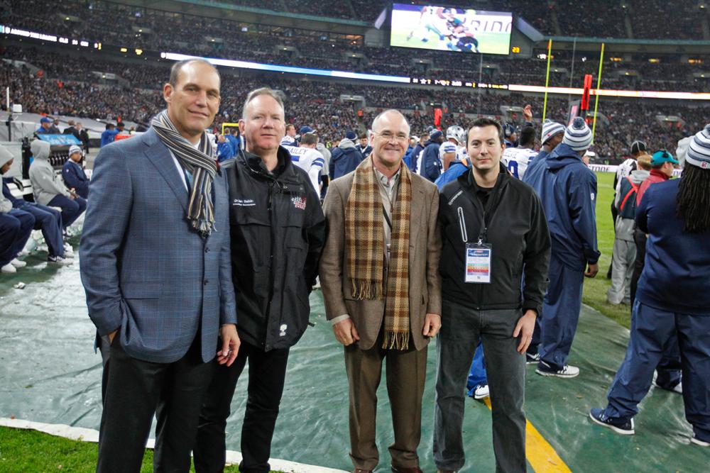 The Dallas Cowboys' medical team, Wembley 2015