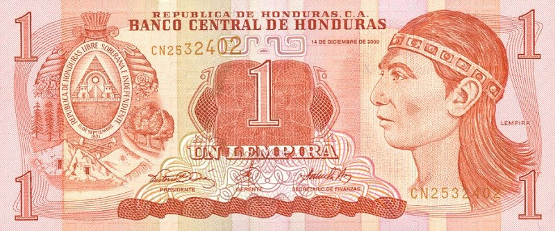 Lempira Honduran Currency