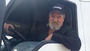 Truck driver, Kevin Kimmel.