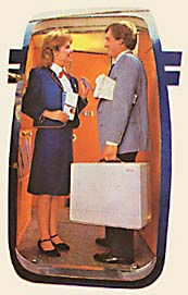 Compaq portatile in aereo, 1981