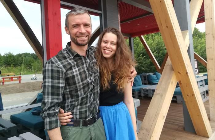Dimitri e Maria di Offline Camp a Kazan, Russia