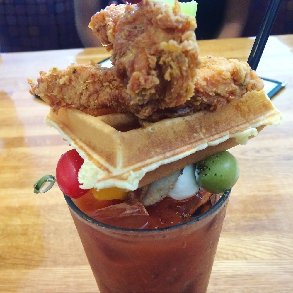 Chicken & Waffles Bloody Mary