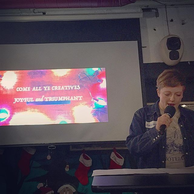 Natasha shares her poetry. #creativecrewrwc