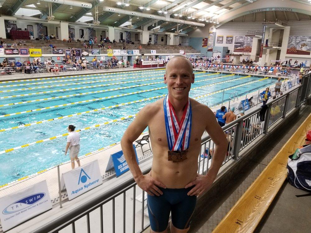Brian at his first National Championships