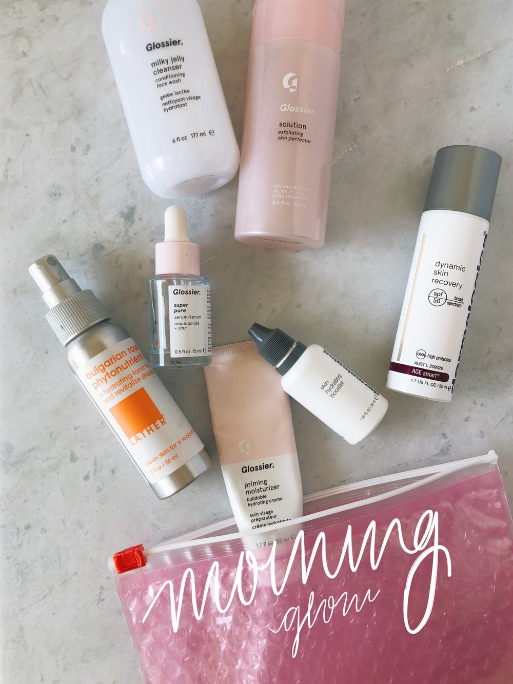 Morning (Or basically post-shower) Routine