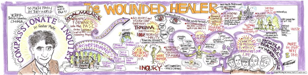 GABOR MATÉ COMPASSIONATE INQUIRY WORKSHOP: THE WOUNDED HEALER [   CLICK TO ENLARGE   ]