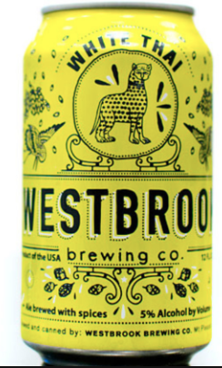 - White Thai           Westbrook BrewingFirst Taste: Charleston, SC- Found this in the fridge and fell in love. Thanks, Jare!  *Favorite Charleston beer*