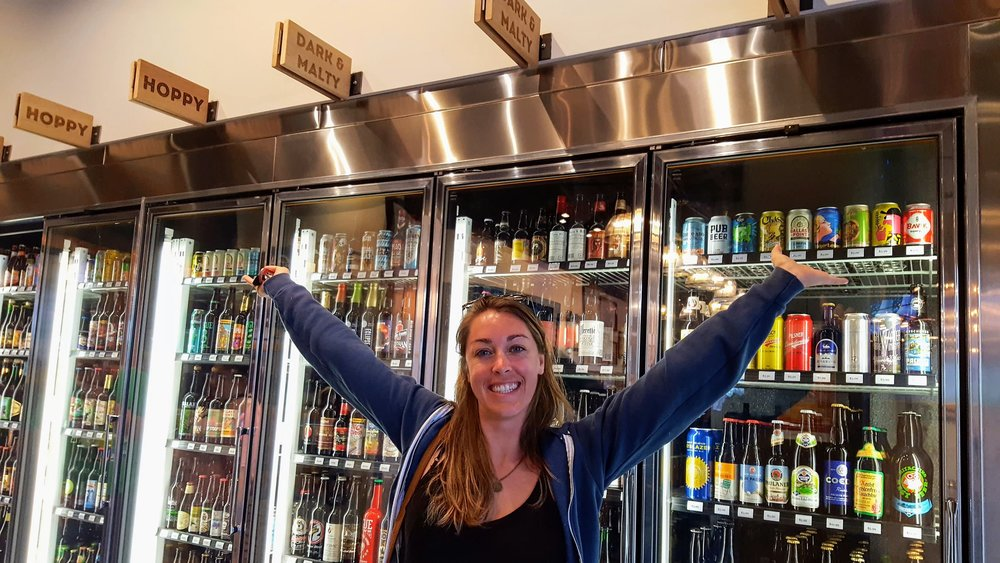 - Village Bottle Shop and Tasting Room          *Best Place to Purchase Beer in the World*