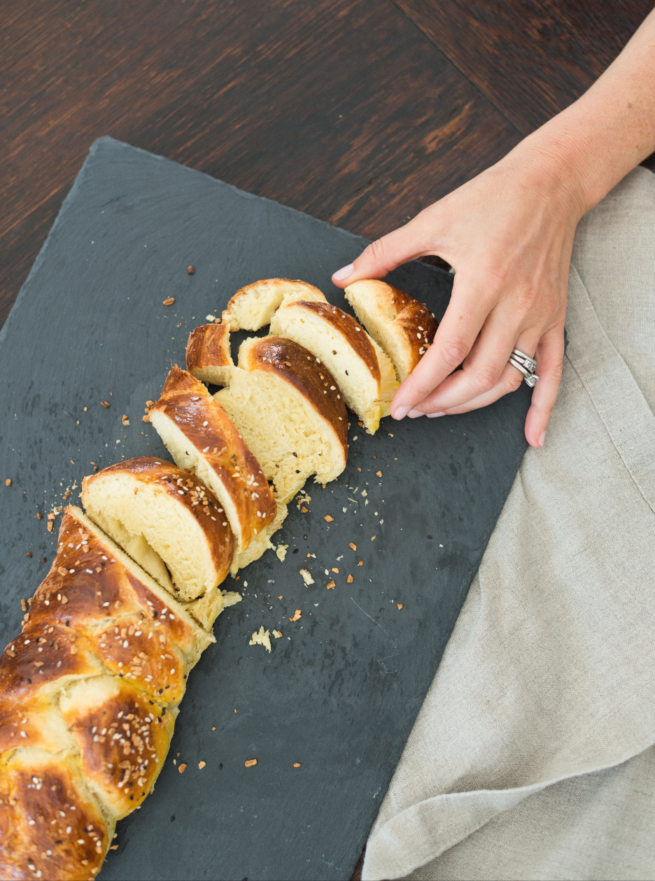 TWO HOURS - making challah + speaking