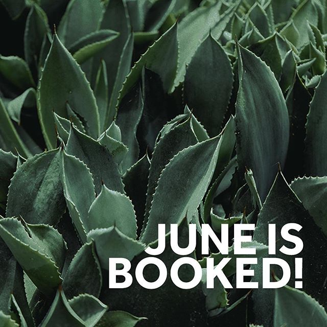 The month of June is officially all booked up! We won't be taking on any new monthly or bi-weekly clients until further notice. We will still be offering one-time cleans but it will only be available on Saturdays.  On a side note, Neat Cleaning Co. will be turning one on May 12th! Stay tuned for a little post about how and why Neat Cleaning Co. came to! 🌱✨