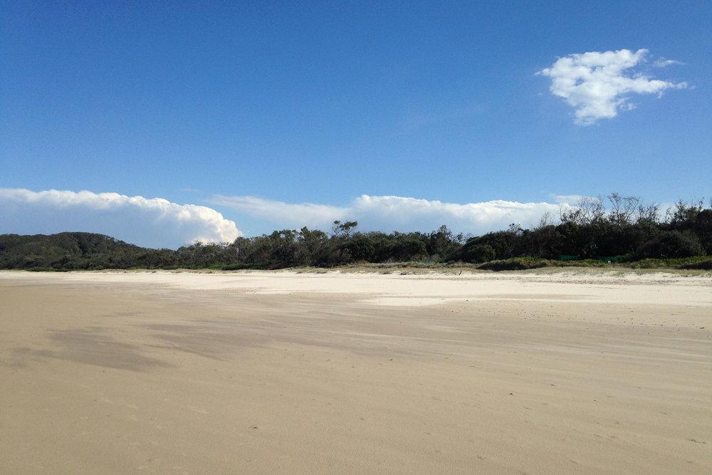 Tallows beach Suffolk Park Byron Bay Australia, photo by  Kate Forrester