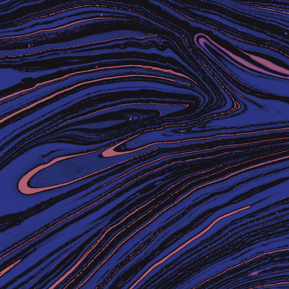 Sapphire   Marbling on Paper, Manipulation in Photoshop