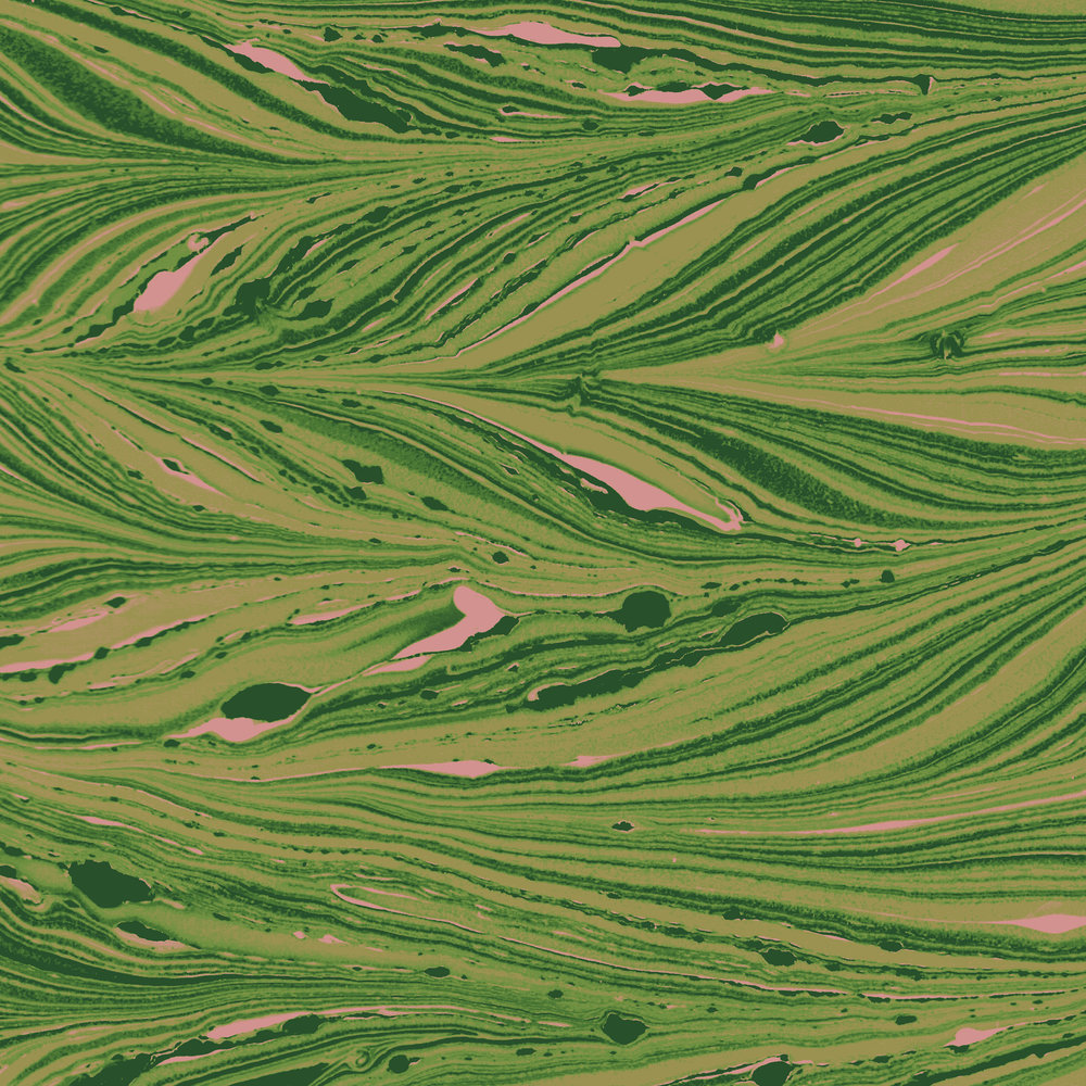 Fields   Marbling on Paper, Manipulation in Photoshop