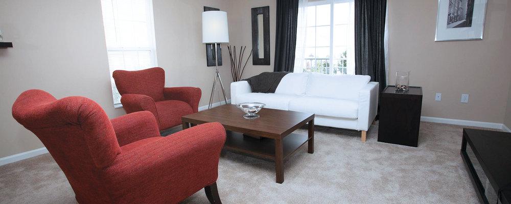 Hamburg Farms Apartments Living Room